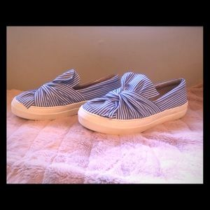 A New Day Tie Knot Slip Ons